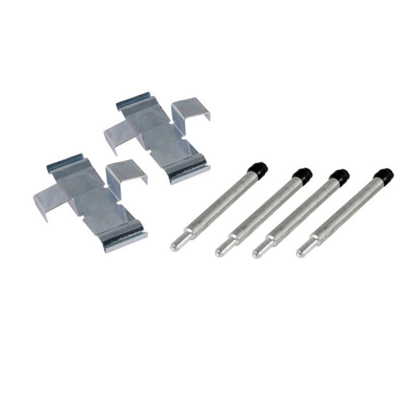Kit de montage des plaquettes pour Combi & Transporter 73 ->86 étriers de frein avant ATE. ou varga  211698455B Sur www.bus-shop.net
