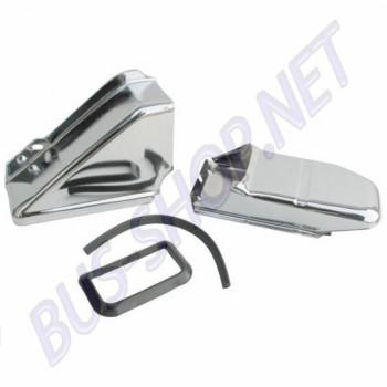 00-8896-0  Tôle pour radiateur huile chromée (2 pièces)