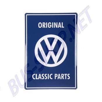 Plaque métal Original Classic Parts