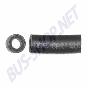 durite d'essence diamètre intérieur 7,5mm lisse renforcée intérieur, le mètre