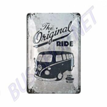 "Plaque métal combi split ""original ride"""