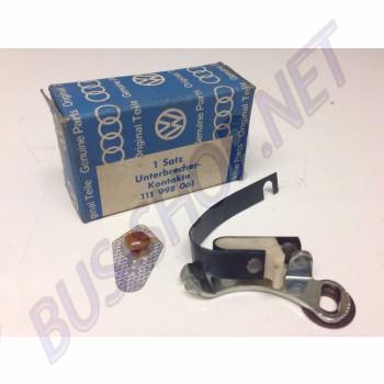 Rupteur d'allumage / vis platinées pour allumeur / distributeur Garbe-Lahmeyer  111998061 111 998 061 Sur Dream-machine.fr