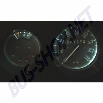 Ampoule de tableau de bord 12V à LED. l'unité ( montage sans modification )