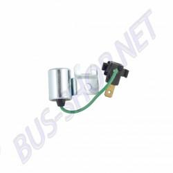 Condensateur pour Golf 1 et Scirocco avec allumeur Bosch : - 1.1 50cv (FA, GG) - 1.3 58cv et 60cv (GS, GF)