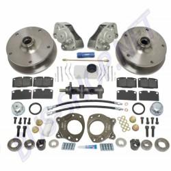 Kit freins à disques avant complet 5x205 T2 08/67-->07/70