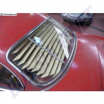 Store Jalousie de lunette arrière pour Karmann-Ghia Coupé 55 ->74