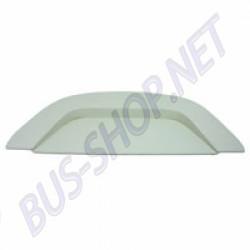 Plage arrière vinyl perforé blanc prédécoupée pour enceintes